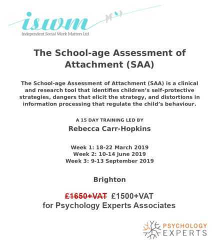 The School-age Assessment of Attachment (SAA)
